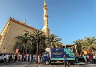 ENOC Ramadan Truck